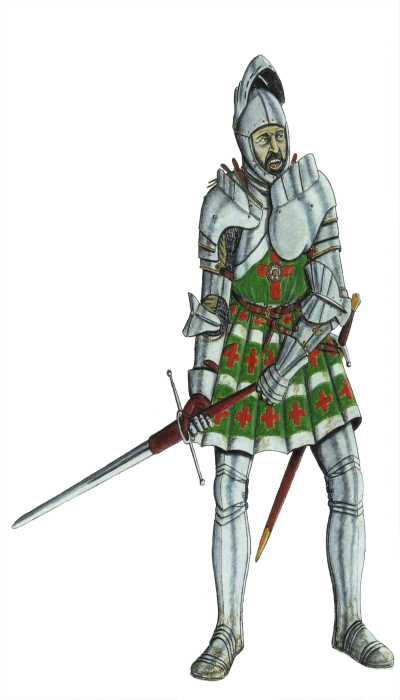 Man at Arms Army of HenryVIII 1520 -1540